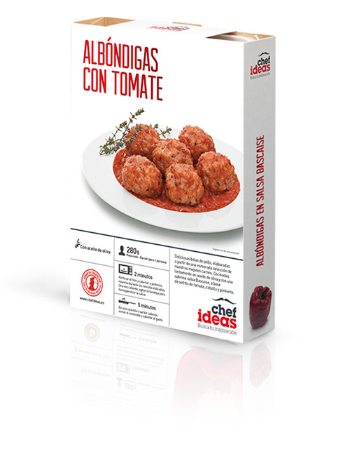 Boulettes à la tomate